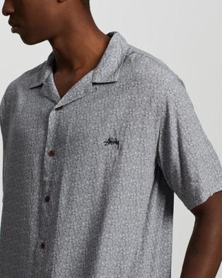 Stussy Micro Paisley SS Shirt - Casual shirts (Grey)