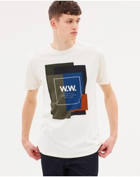 Wood Wood - WW Quilt T-Shirt