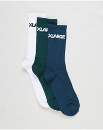 X-Large - 91 Text Socks 3-Pack