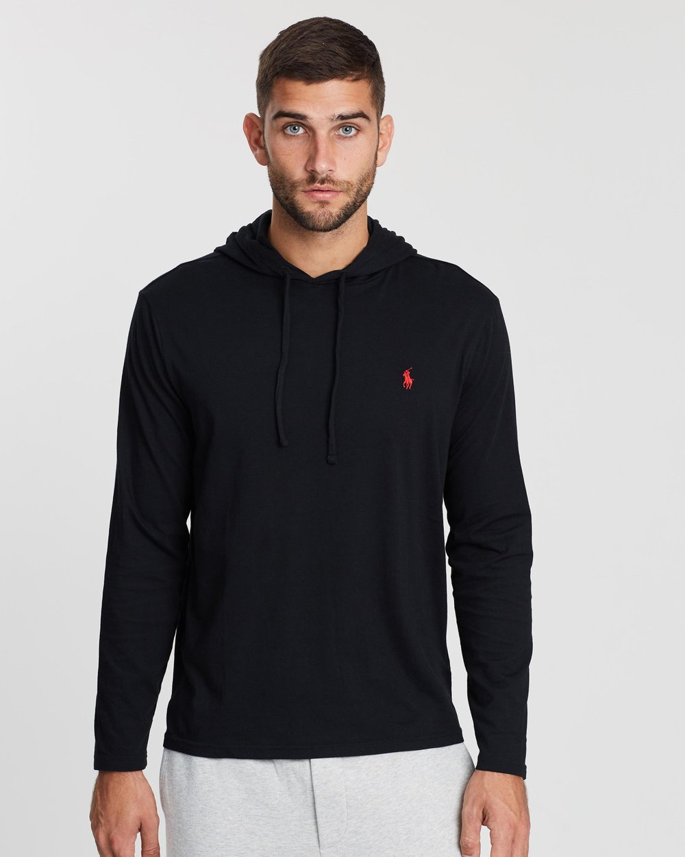 f8bc9ea44  Long Sleeve Hooded Jersey T-Shirt by Polo Ralph Lauren Online | THE ICONIC  | Australia