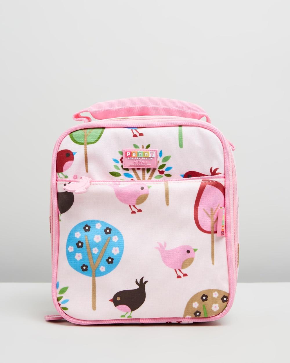 Penny Scallan Lunchbox School Home Chirpy Bird