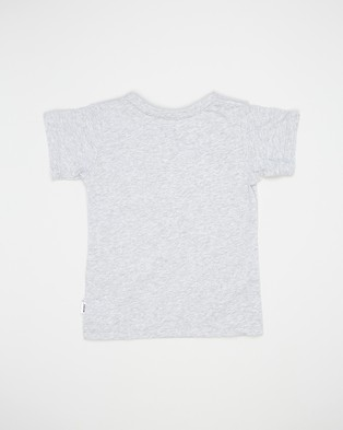 Bonds Kids Basic Aussie Cotton Tee   Kids - T-Shirts & Singlets (New Grey Marle)