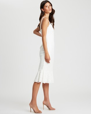 CHANCERY - Marcie Midi Dress - Bridesmaid Dresses (White) Marcie Midi Dress