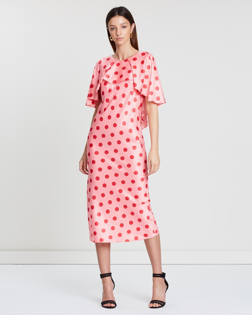 Gary Bigeni Red Polka Dot Jure Dress