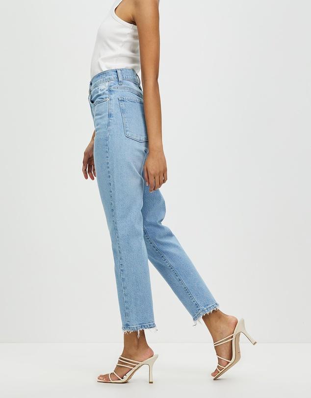 Women Frankie Ankle Stretch Petite Jeans