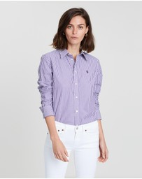 Polo Ralph Lauren - Andrew Kendal Slim Fit LS Shirt