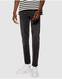 Topman - Washed Stretch Skinny Jeans