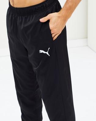 Puma Active Woven Cropped Length Pants - Sweatpants (Puma Black)