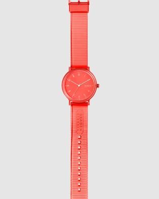 Skagen Aaren Orange Analogue Watch - Watches (Orange)