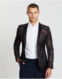 Pierre Cardin - Black Floral Jacket