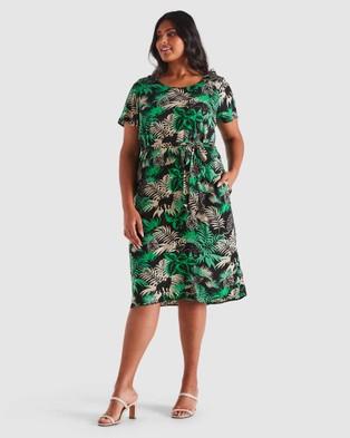 Estelle Panther Dress - Printed Dresses (Print)