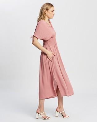 KAJA Clothing Holly Maxi Dress - Dresses (Pink)