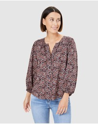 French Connection - Paisley Button Through Shirt