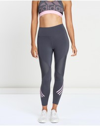 adidas Performance - Believe This High Rise 3-Stripes 7/8 Tights