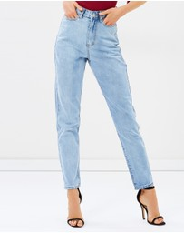 Atmos&Here - Giselle Super High Waist Mom Jeans