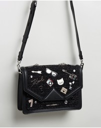 Karl Lagerfeld - K/Klassik Pins Shoulder Bag