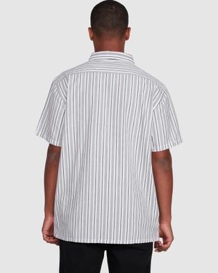 Billabong Sundays Jacquard Short Sleeve Shirt - T-Shirts & Singlets (OFF WHITE)