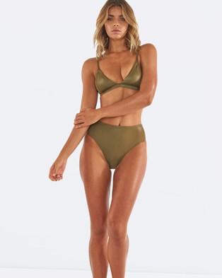 L'urv – Booty Bikini Bottoms Green