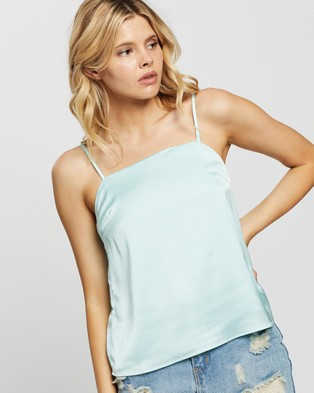 Glamorous Mint Camisole - Tops (Mint)