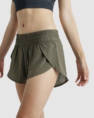 The Brave Women's Slipstream Shorts - Shorts (Dark Olive)