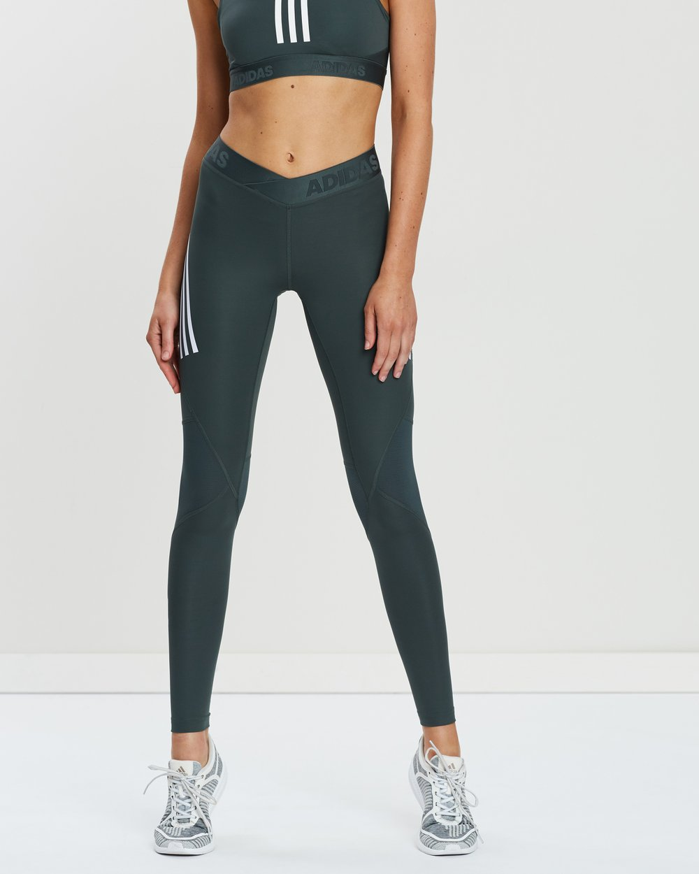 a894d86362f5f Alphaskin Sport 3-Stripes Long Tights by adidas Performance Online | THE  ICONIC | Australia