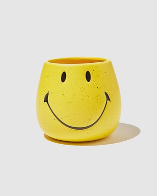 Typo Licensed Pen Holder - All Stationery (License Smiley Yellow)