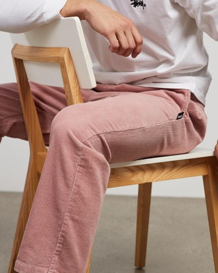 Stussy Cord Corp Beachpants - Pants (Mauve)