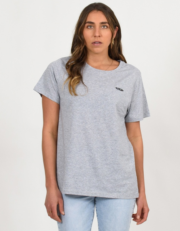 Women Embroidered Logo Tee
