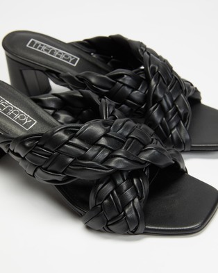 Therapy Lacey - Sandals (Black PU)
