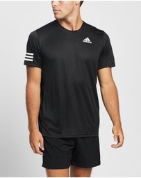 adidas Performance - Club Tennis 3-Stripes Tee
