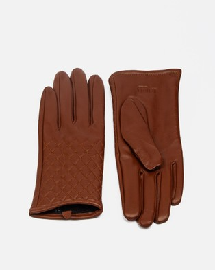 RUMI WOMAN Maroi Spezzatura - Scarves & Gloves (Brown)