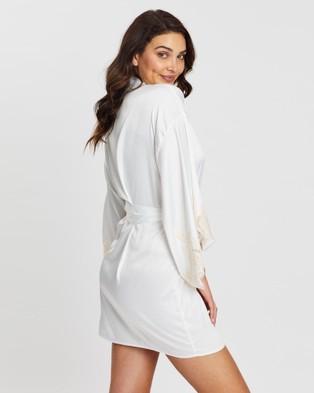 Homebodii Astrid Robe - Sleepwear (White)