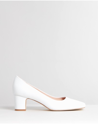 Atmos&Here - Leigh Leather Pumps