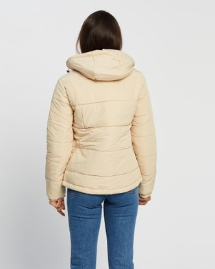 All About Eve Essential Puffer Jacket - Coats & Jackets (White )