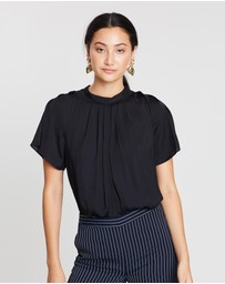 SABA - Lillian High Neck Top