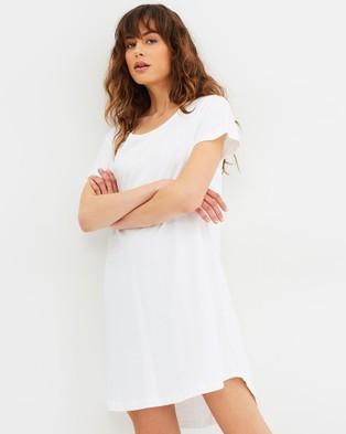 Cloth & Co. – Organic Cotton T Shirt Dress White