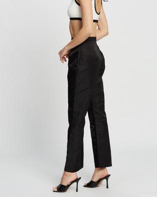 Dazie New York Nylon Cigarette Pants - Pants (Black)