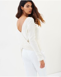 Miss Selfridge - Wrap Back Knitted Jumper