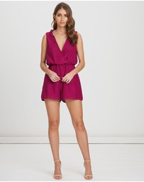CHANCERY - Cynthia Lace Playsuit