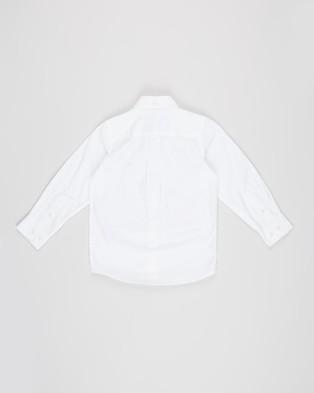 Gant Kids  The Archive Oxford Button Down Shirt - Shirts & Polos (White)
