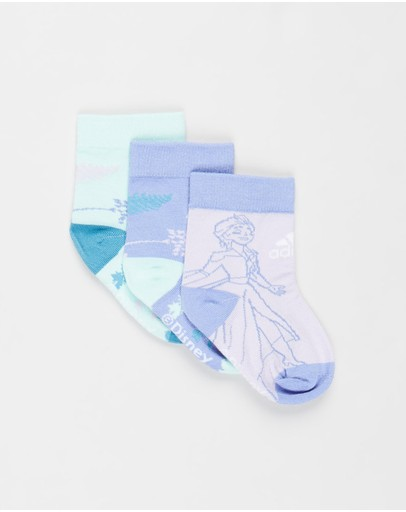 adidas Performance - Frozen Crew Socks 3-Pack - Kids