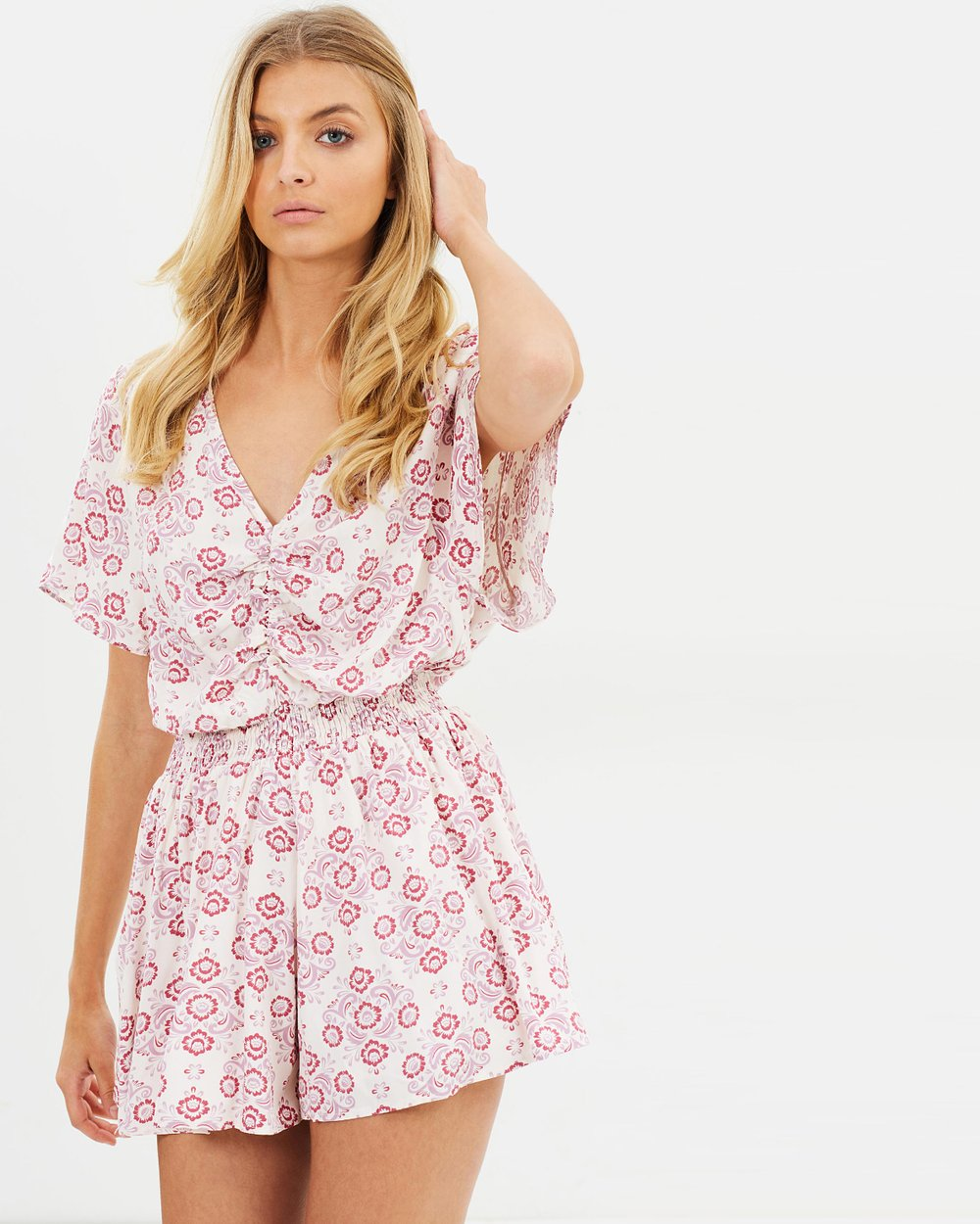 a4283a0ef5 ICONIC EXCLUSIVE - Nicoletta Playsuit by Atmos Here Online