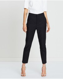 Faye Black Label - Palladium High Rise Tapered Trousers