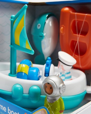 Early Learning Centre - Happyland Bath Time Boat   Babies - Toys (Multi) Happyland Bath Time Boat - Babies