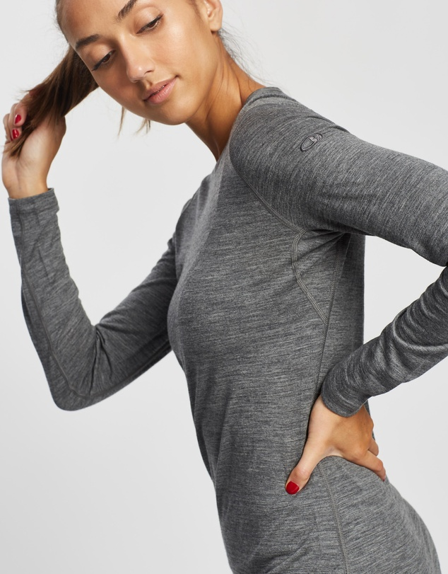 Women Merino 200 Oasis Long Sleeve Crewe Thermal Top - Women's