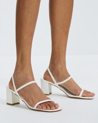 Billini - Balton Mid-low heels (White)