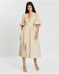 Shona Joy - Farina Balloon Sleeve Sundress