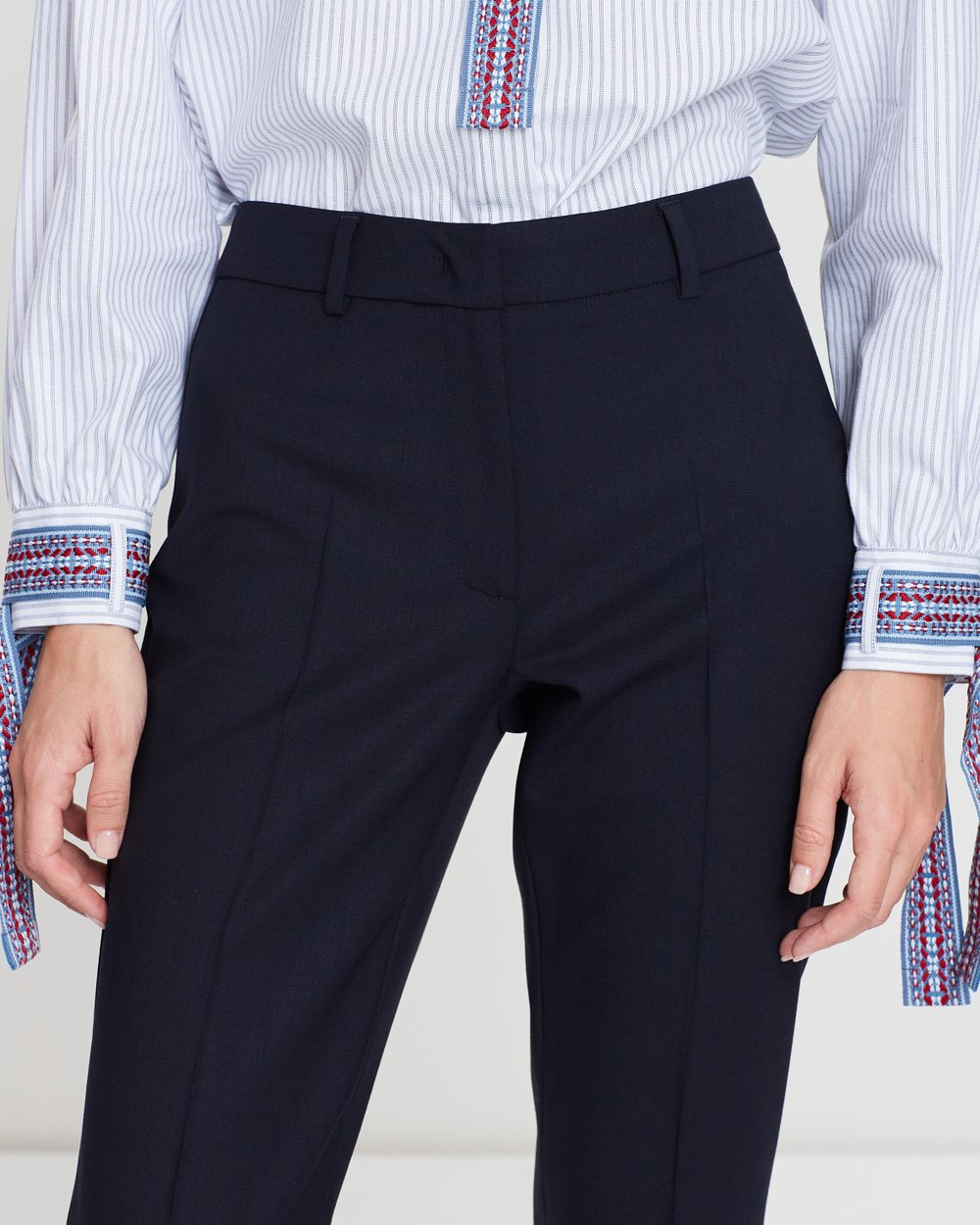 2ec8a6d35477 Maga Wool Trousers by Weekend Max Mara Online