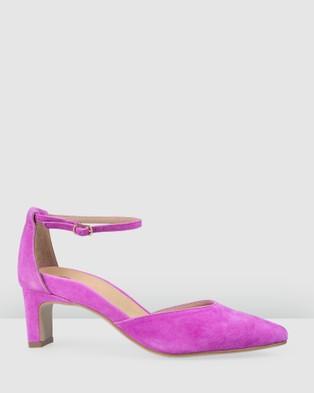 Bared Footwear - Blackcap Low Heels Women's (Fuchsia)