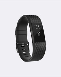 Fitbit - Fitbit Charge 2 Gunmetal Special Edition